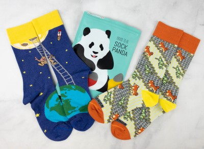 Sock Panda Tweens April 2021 Subscription Review + Coupon