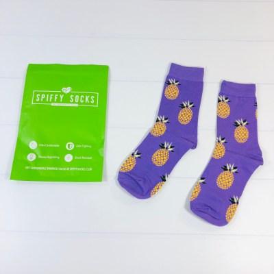 Spiffy Socks Review + Coupon – Women's Socks Subscription – April 2021