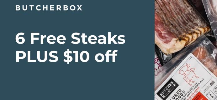 ButcherBox Spring Flash Sale: FREE Steak Sampler + $10 Off!