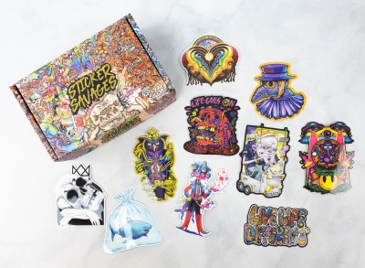 Sticker Savages April 2021 Subscription Box Review + Coupon
