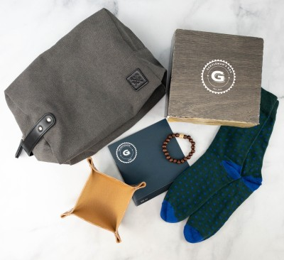 The Gentleman's Box April 2021 Subscription Box Review + Coupon