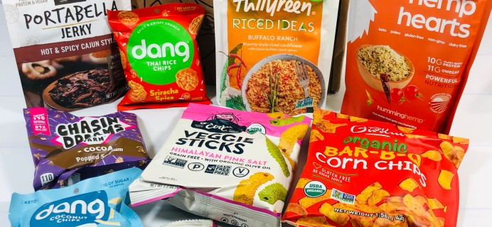 Vegancuts Snack Box Review + Coupon – April 2021