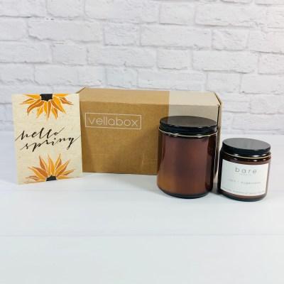Vellabox Candle Subscription Box Review + Coupon – April 2021