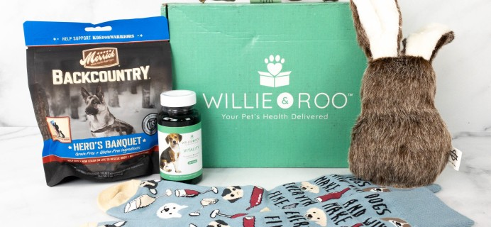 Willie & Roo Review + Coupon – April 2021