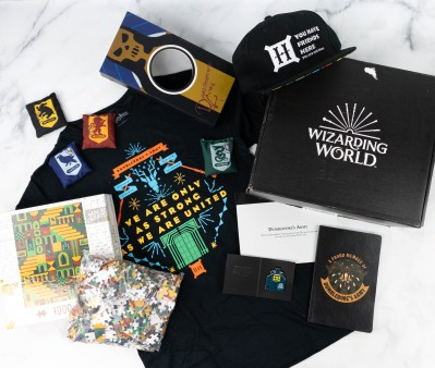 JK Rowling's Wizarding World Crate March 2021 DUMBLEDORE'S ARMY! Review + Coupon