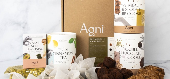 Agni Review + Coupon: Monthly Mama Box