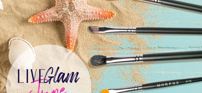 LiveGlam Brush Club June 2021 Full Spoilers + Coupon!