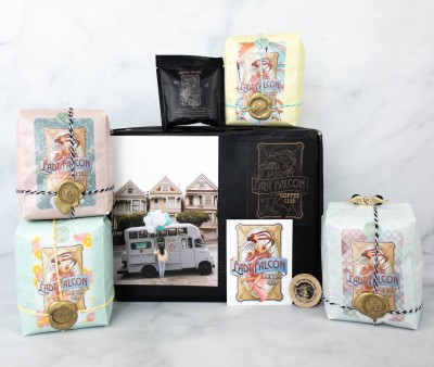 Lady Falcon Coffee Club Subscription Box Review + Coupon!