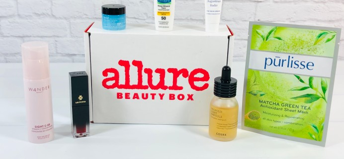 Allure Beauty Box May 2021 Review & Coupon