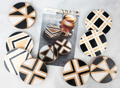 Annie's Creative Woman Kit-of-the-Month Club Review + Coupon – GEOMETRIC COASTERS
