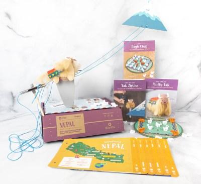 KiwiCo Atlas Crate Review & Coupon – NEPAL