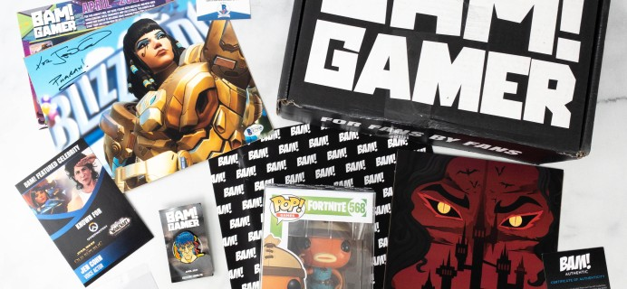 The Bam! Gamer Box April 2021 Subscription Box Review