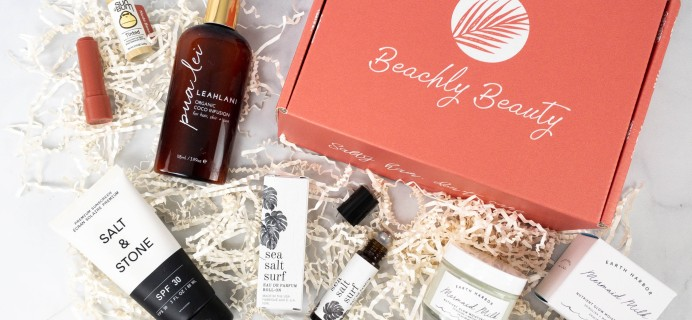 Beachly Beauty Box Review – May 2021