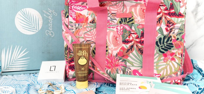 Beachly Summer 2021 Women's Box Review + Coupon!