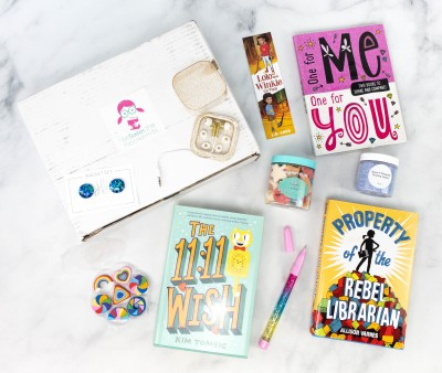 beTWEEN the Bookends April 2021 Subscription Box Review + Coupon