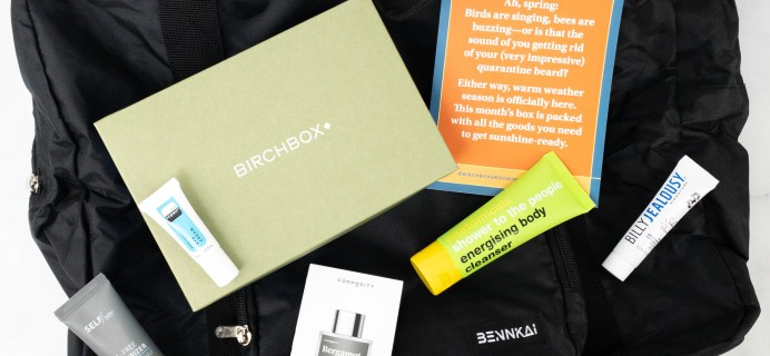 Birchbox Grooming Review + Coupon – May 2021