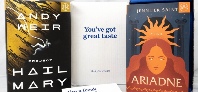 Book of the Month May 2021 Subscription Box Review + Coupon