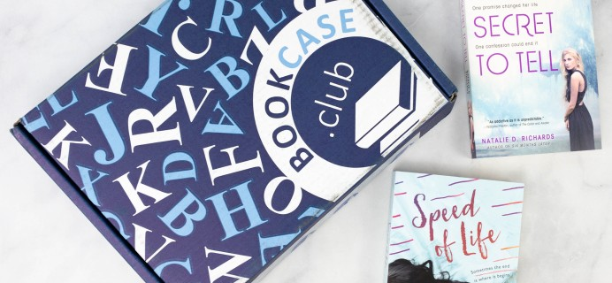 BookCase Club May 2021 Subscription Box Review & Coupon – TEENAGE DREAMS