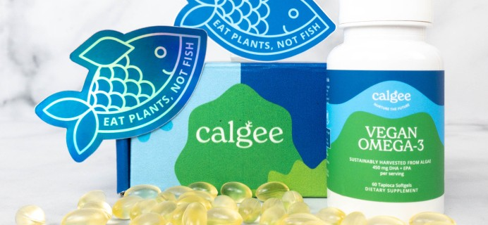 Calgee Vegan Omega-3 Supplement Review + Coupon