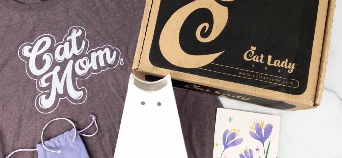 Cat Lady Box May 2021 Subscription Box Review – CAT MOM'S DAY BOX!