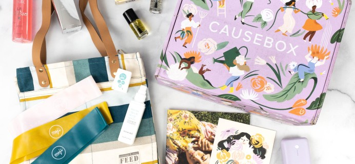 CAUSEBOX Spring 2021 Subscription Box Review + Coupon