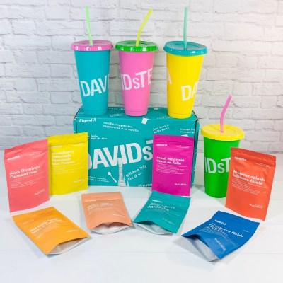 DAVIDsTEA Tasting Club Review – Summer 2021