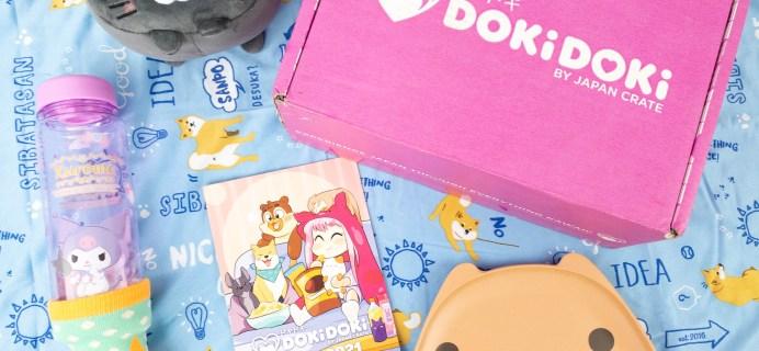 Doki Doki June 2021 Subscription Box Review & Coupon