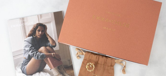 Emma & Chloe April 2021 Jewelry Subscription Box Review