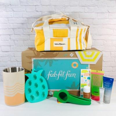 FabFitFun Summer 2021 Box Review + Coupon