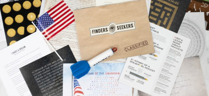 Finders Seekers Subscription Box Review + Coupon – USA