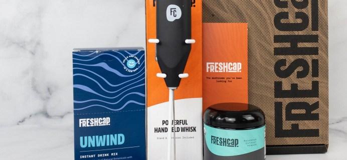 Freshcap Mushroom Supplements: Thrive 6 Powder and Unwind Review