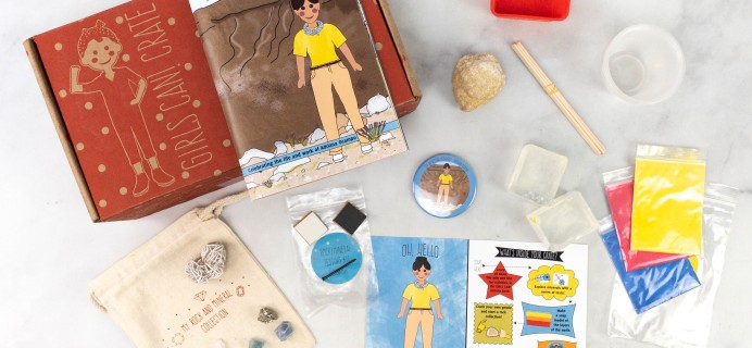 Girls Can! Crate Subscription Box Review + Coupon – THE GO-GETTING GEOLOGIST