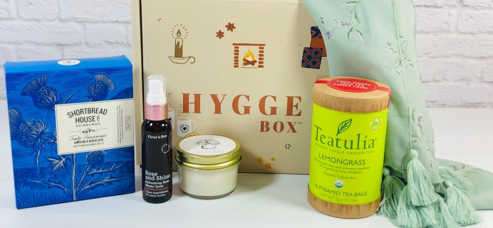 Hygge Box Review – May 2021 Deluxe Box