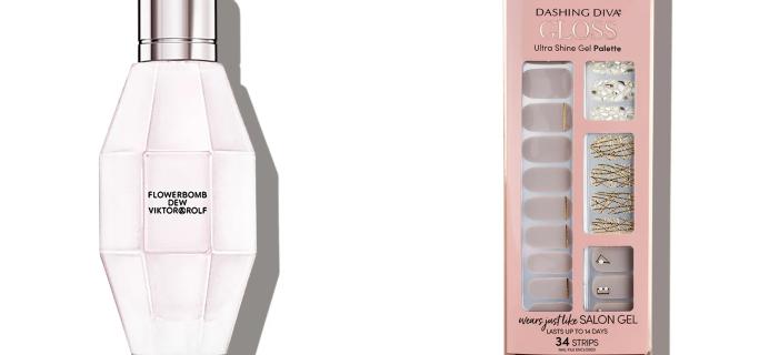 Allure Beauty Box Coupon: FREE Viktor&Rolf Fragrance & Dashing Diva Gel Palette!