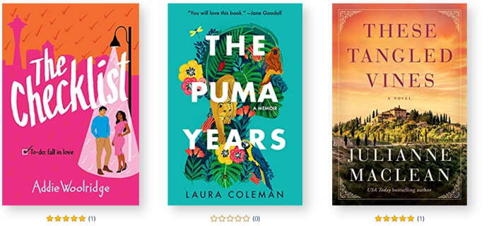 Amazon First ReadsMay 2021 Selections: 1 Book FREE for Amazon Prime Members