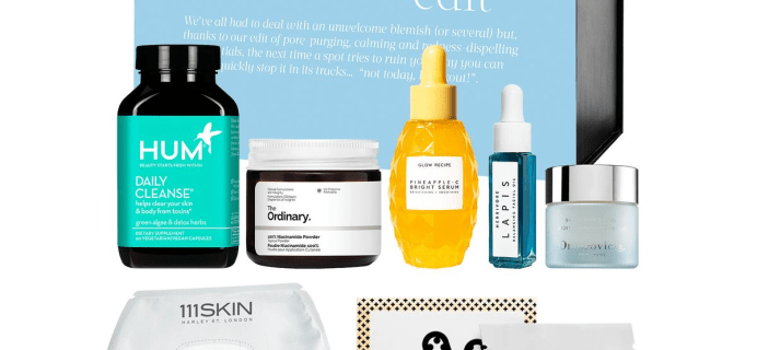 The Cult Beauty The Blemish Edit Full Spoilers – Available Now!