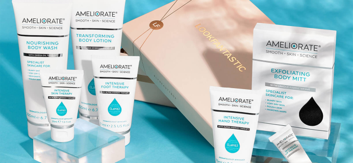Look Fantastic x Ameliorate Kit: 7 Derm-Tested Products! Full Spoilers + Coupon!