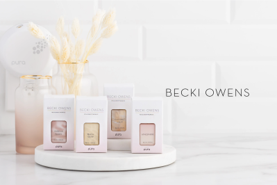 New Pura Becki Owens Fragrance: Atmosphere and Beach Glow!