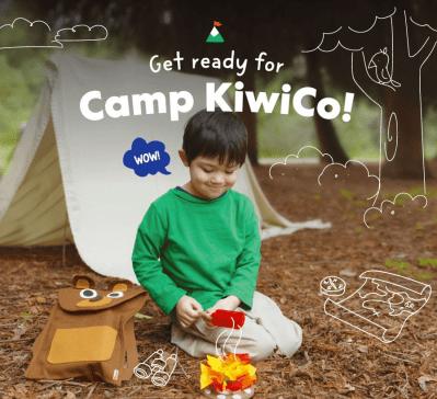 Camp KiwiCo Summer Camp 2021: Free Classes + Camp in a Box!