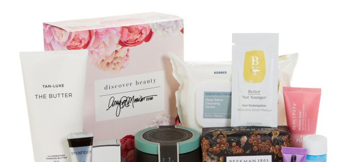 HSN Discover Beauty x Amy Luxe Sample Box Available Now!