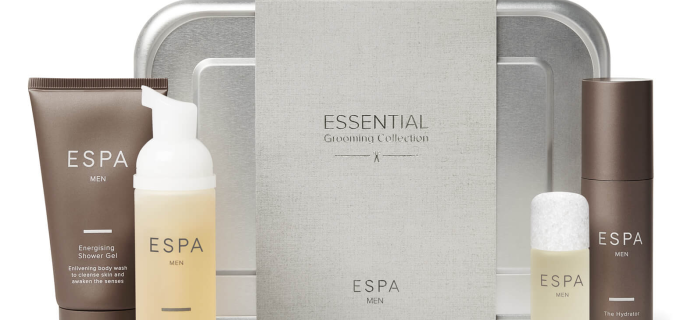 ESPA Essential Grooming Collection Brings Grooming Staples For Dad!