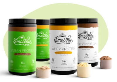 New SmoothieBox Proteins Give A Boost To Your Smoothies!