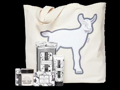 Beekman 1802 Vanilla Absolute Goat Tote BundleIs Back!