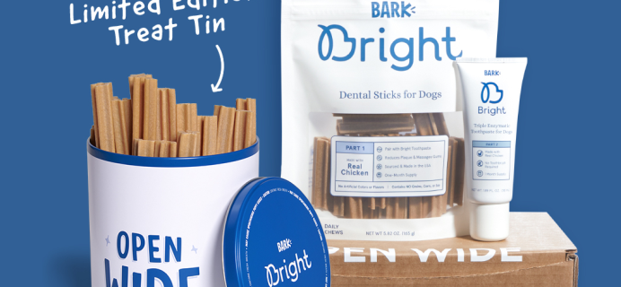 Bark Bright Coupon:  Free Tin with Multi-Month Subscription!
