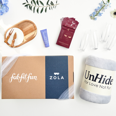Bridal Season Starts Now: FabFitFun Launches FFF x Zola Wedding Box!