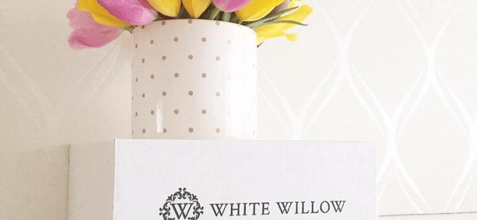 White Willow Box June 2021 Spoilers!