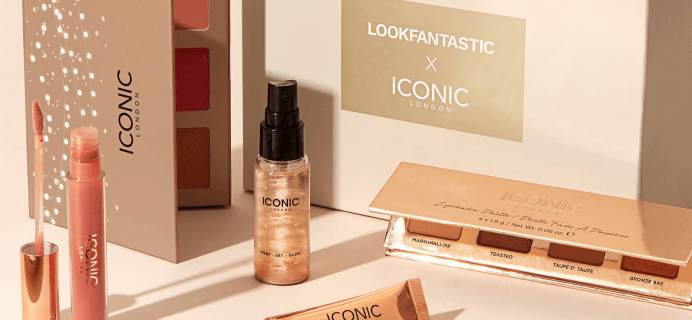 Look Fantastic x ICONIC London Limited Edition Beauty Box: 6 Best-Selling Products! Full Spoilers + Coupon!