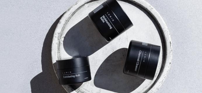 Lumin Coupon: Men's Premium Skincare Trial Kit – $7.95 Shipped!