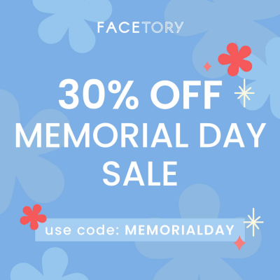 Facetory Memorial Day Sale: Get 30% Off SITEWIDE!