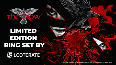 Loot Crate Limited Edition The Crow Ring Set Available Now!